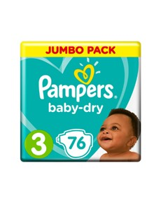 groceries: PAMPERS ACTIVE JUMBO PACK MIDI 76S!