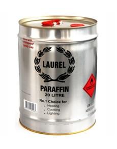 groceries: LAUREL PARAFFIN DRUM 20L!