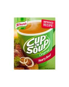 groceries: KNORR CAS REGULAR, HEARTY BEEF!