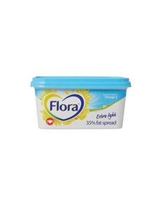 groceries: FLORA EXTRA LGHT MED FAT SPRD 500G!