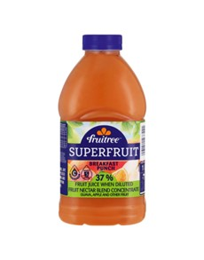 groceries: FRUITREE SUPERFRUIT 4LT, BFAST PUNCH!