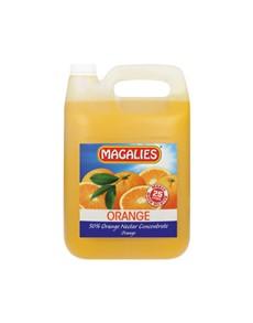 groceries: MAGALIES CONCENTRATES 5L, ORANGE 50 Percent 1+4!