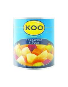groceries: KOO FRUIT COCKTAIL 825G!