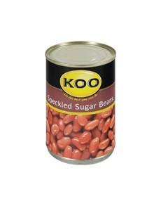 groceries: KOO SPECKLED SUGAR BEANS 410G!