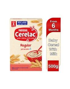 groceries: NESTLE CERELAC INFANT CEREAL REGUL 500G!