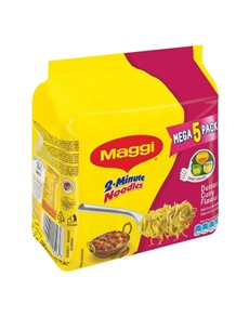 groceries: Maggi 2 Minute Dbn Curry Noodles 73G (5)!