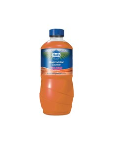 groceries: HALLS FRUIT DRINK 1.25LT, FRT PUNCH!