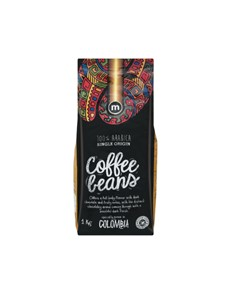 groceries: M COFFEE BEANS 1KG, COLOMBIA!