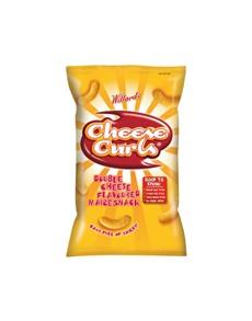 groceries: Willards Curls 150G, Cheese!