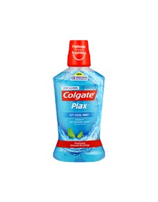 groceries: PLAX MOUTHWASH 500ML ,ICY COOL MINT!
