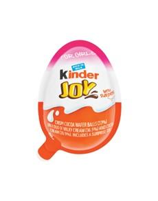 groceries: KINDER JOY CLATE EGG 21G, T1 GIRL!
