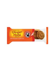 groceries: BAKERS GINGER NUTS 200G!