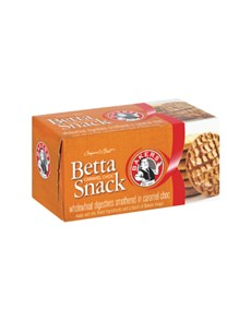 groceries: BAKERS BETTASNACK  200G CARAMEL CHOC!