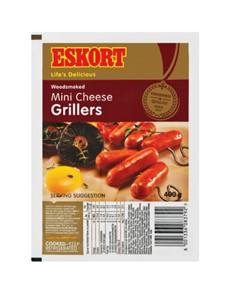 groceries: ESKORT MINI CHEESE GRILLERS 400G!