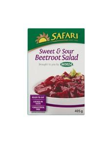 groceries: SAFARI SWEET & SOUR BEETROOT 405G!
