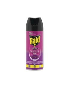 groceries: RAID INSECT DUAL PURPSE 300ML LODOUR!