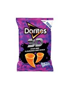 groceries: Doritos 3D Bugles 100G, Cajun Bbq!