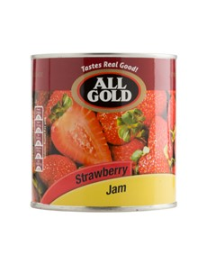 groceries: All Gold  Strawberry Jam 900G!