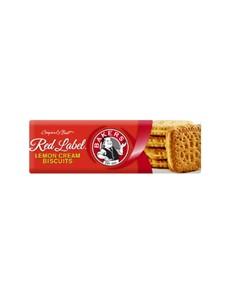 groceries: Bakers Red Label 200G, Lemon Creams!