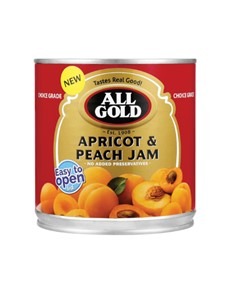 groceries: All Gold Apricot And Peach Jam 900G!