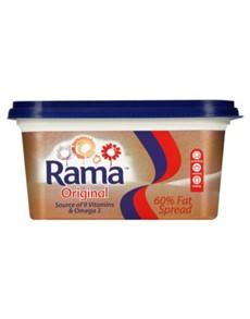 groceries: Rama 60 Percent Fat Spread Tub 1Kg!