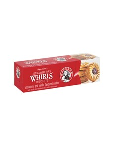 groceries: Bakers SBerry Whirl Biscuits 200G!