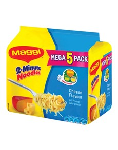 groceries: Maggi 2 Minute Cheese Noodles 73G (5)!