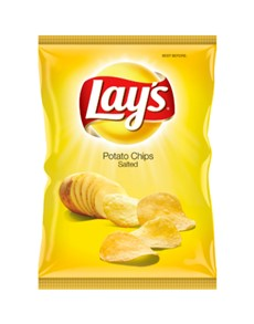 groceries: Lays Potato Chips 120G, Salted!