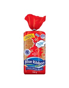 groceries: Blue Ribbon Classic Brown Sliced 700G!