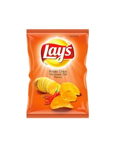 groceries: Lays Potato Chips 120G, Thai Swt Chilli!