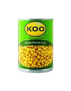 groceries: Koo Whole Kernel Corn In Brine 410G!