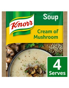 groceries: Knorr Packet Soup 50G, Crm Of MRoom!