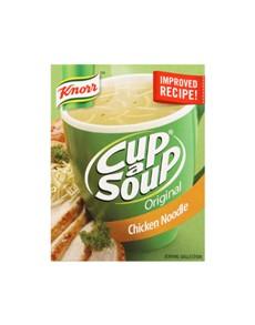 groceries: Knorr CAS Regular, Chick Noodle!