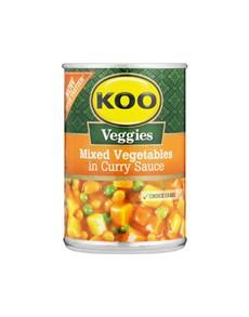 groceries: Koo Vegetable Curry 420G!