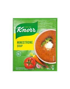 groceries: Knorr Packet Soup 50G, Minestrone!
