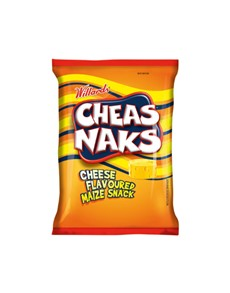 groceries: Willards Cheasnaks 135G, Cheese!