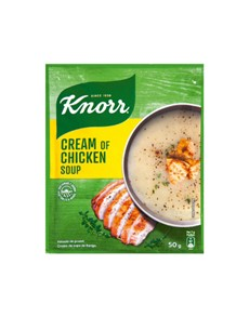 groceries: Knorr Packet Soup 50G, Chicken!