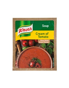groceries: Knorr Packet Soup 50G, Crm Of Tomato!