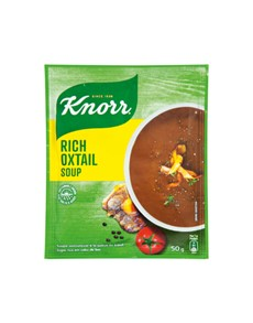 groceries: Knorr Packet Soup 50G, Rich Oxtail!