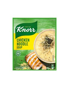 groceries: Knorr Packet Soup 50G, Chicken Noodle!
