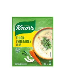 groceries: Knorr Packet Soup 50G, Thick Vegetable!