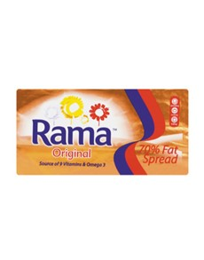 groceries: Rama 70 Percent Fat Spread Original Brick 1Kg!