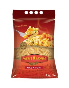 groceries: Fattis & Monis Macaroni 3Kg!