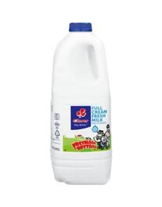 groceries: Clover Fresh Milk Jug 2Lt!