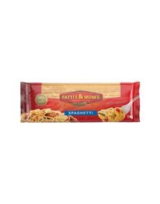 groceries: Fattis & Monis Spaghetti Plain 1Kg!
