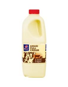 groceries: Clover Full Cream Amasi 2Kg!