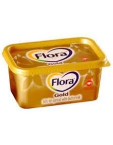groceries: Flora Gold Margarine Tub 1Kg, Gold!