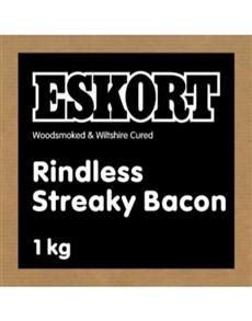 groceries: Eskort Streaky Bacon 1Kg!