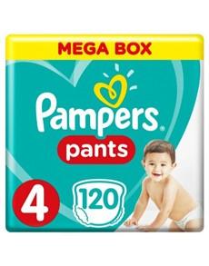 groceries: Pampers Pants Mega Box, Maxi 120!
