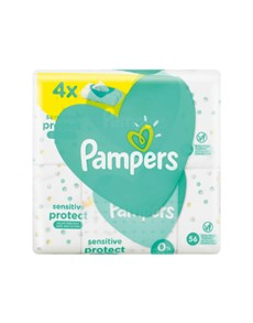 groceries: Pampers Baby Wipes Refill Sensitive 3+1!